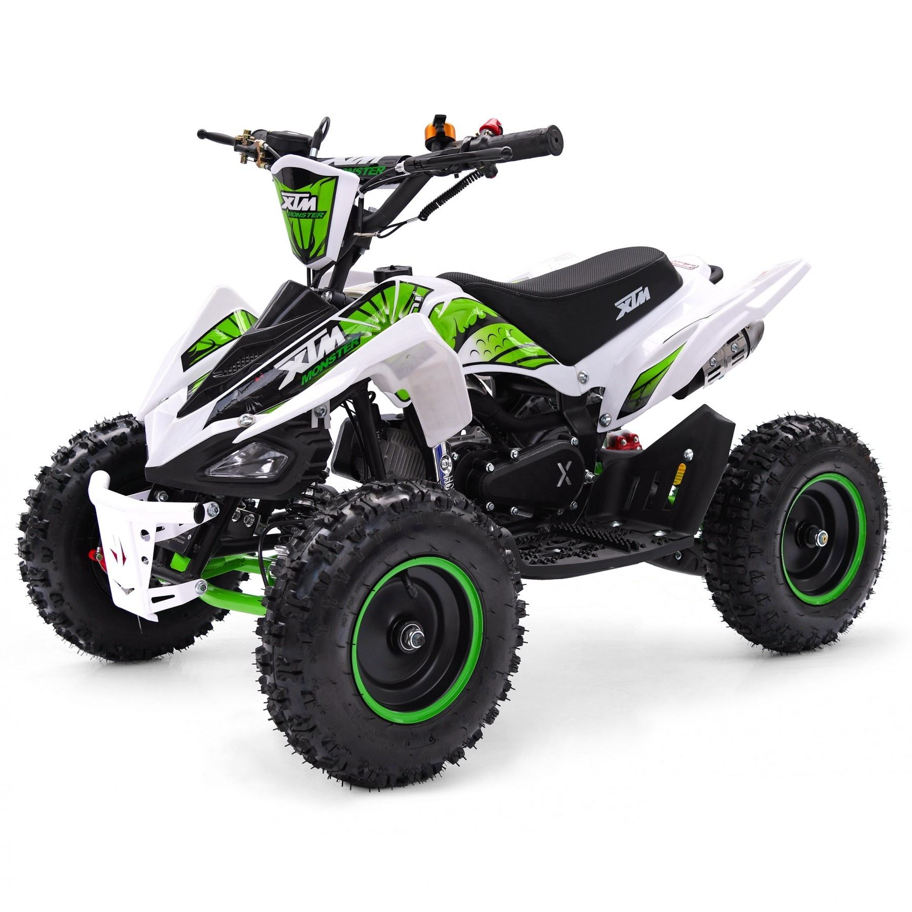 Tao Motor popular cheap chinese atv quad 49cc quad bike 2 stroke four wheeler mini moto 50cc automatic atv