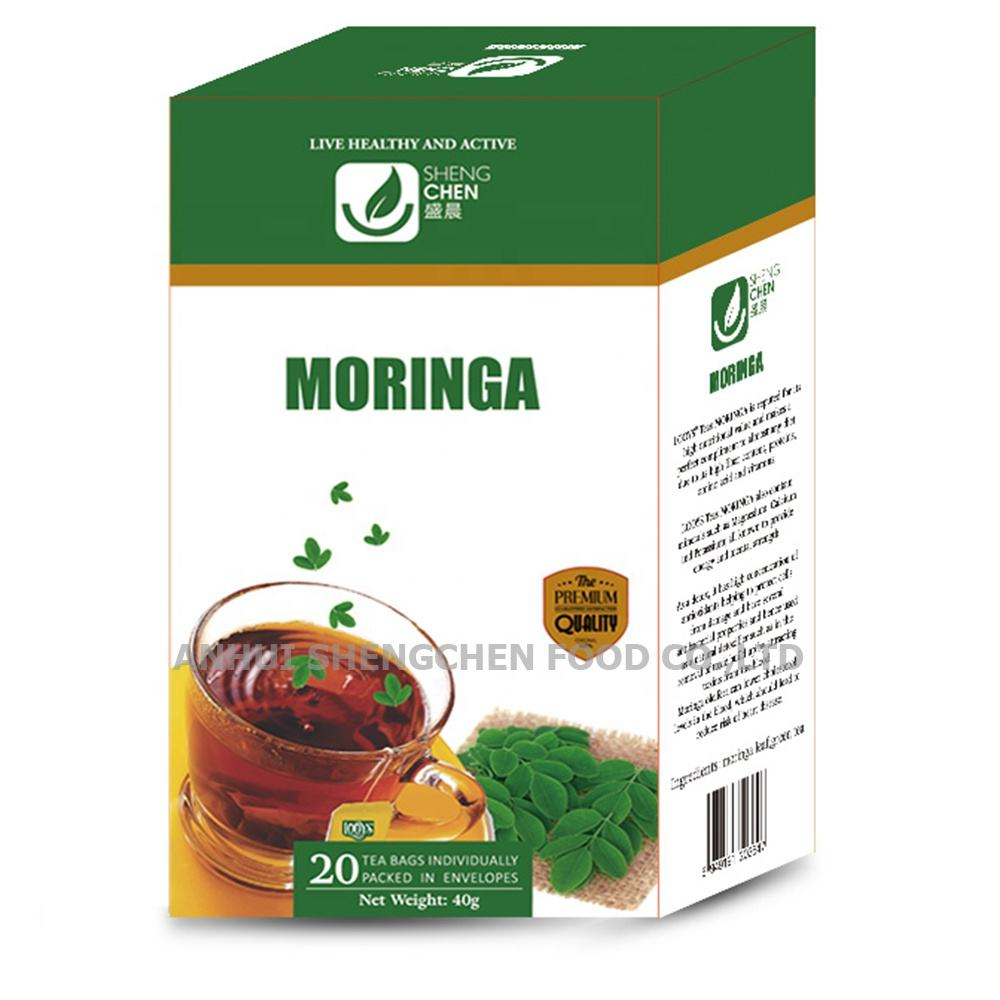 100% natural and herbal organic moringa green tea bag 2g*20bags /USDA Organic Moringa Tea to Nigeria Bennin Albania