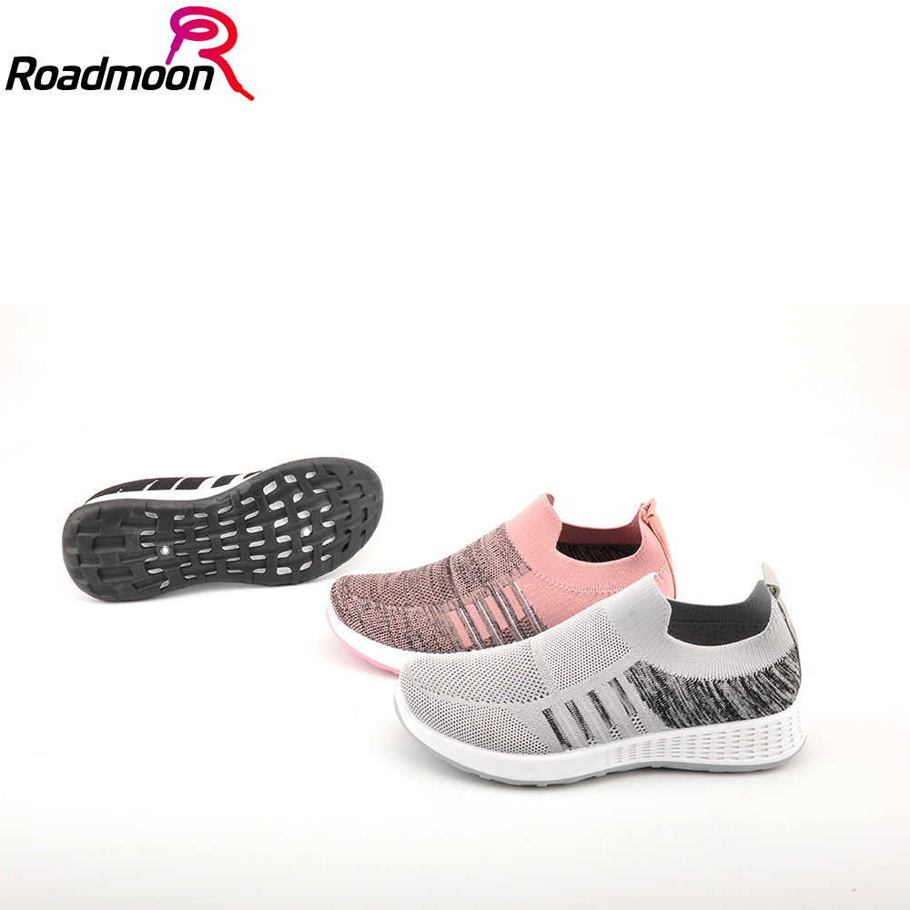 2020 New Flying Shuttle Knitted Low-cost Leisure Light Sports Shoes for Women