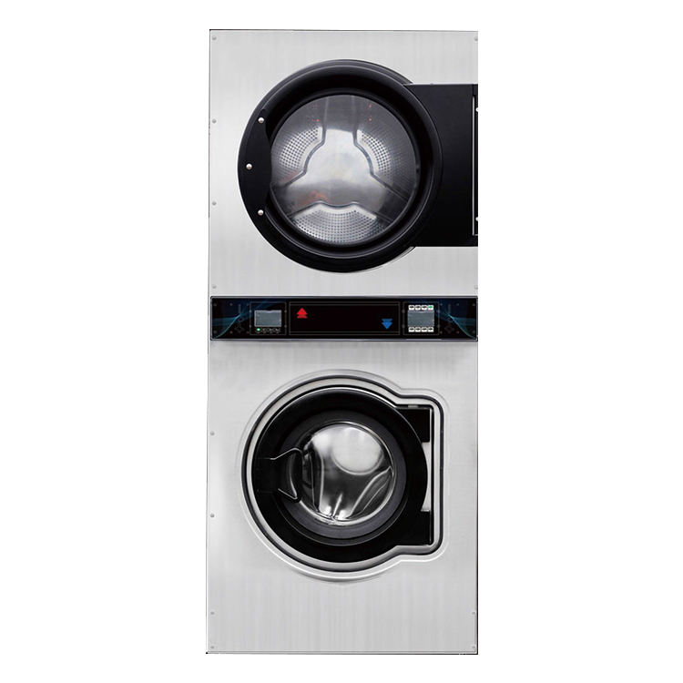 Fully Automatic Coin Operated Clothes Washing Machine And Dryer