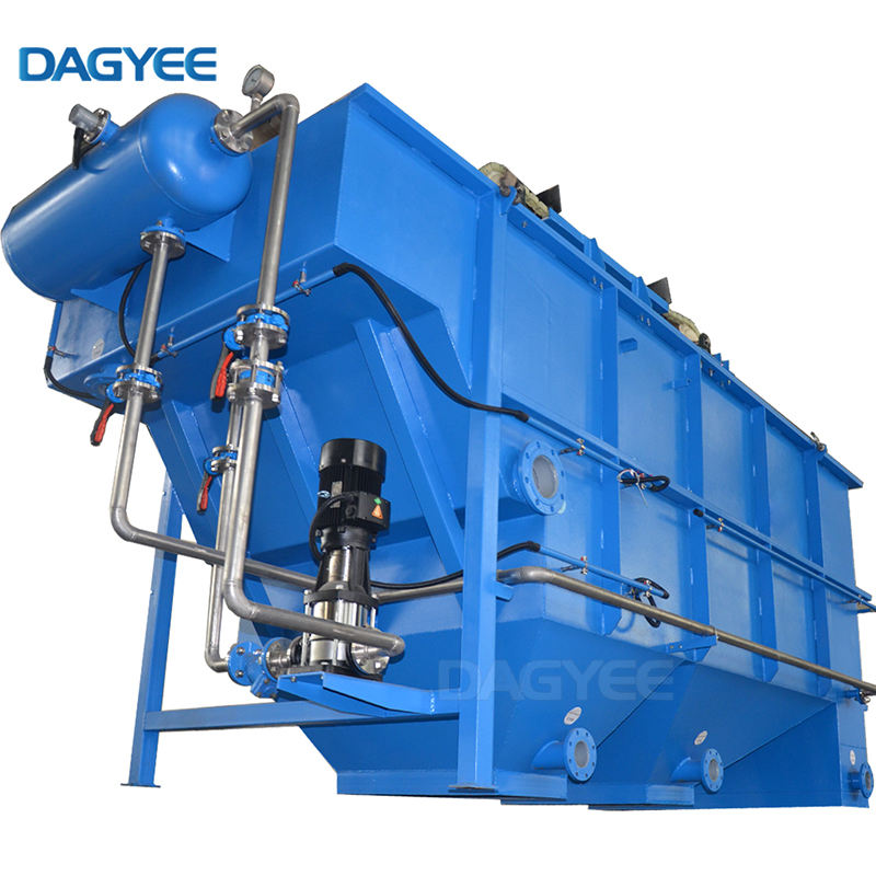 Wastewater Tank DAF Unit Micro Bubble Separator Oil GAS Industry DAF Flotation Machine