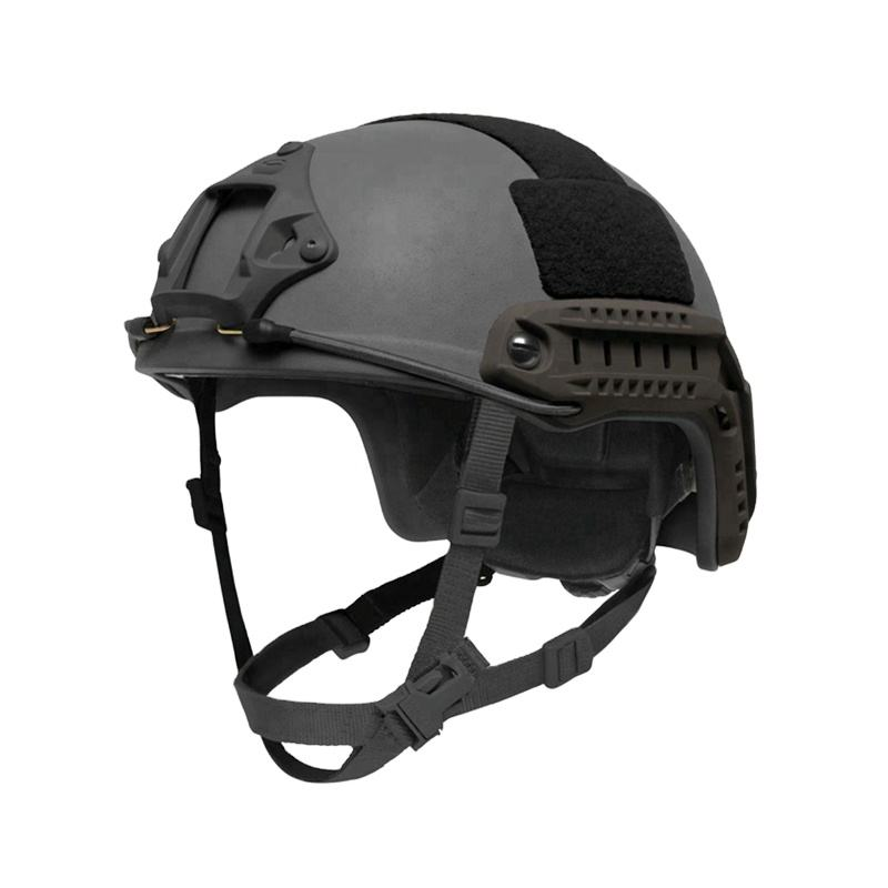 NIJ IIIA standard fast aramid PE bulletproof helmet bullet proof helmet ballistic helmet for police and military