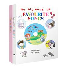 Professional supplier sound book for kids with music Favourite Songs and  Nursery Rhymes with educational toys reading pen