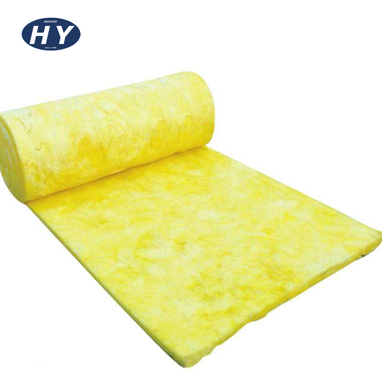 Hot Selling Glass Wool blanket Building thermal Insulation Materials with for metal building frame