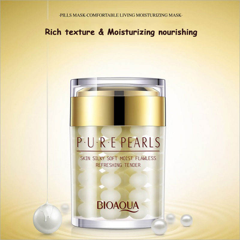Pure Pearls skin white,bright and whitening refreshing tender face cream for women