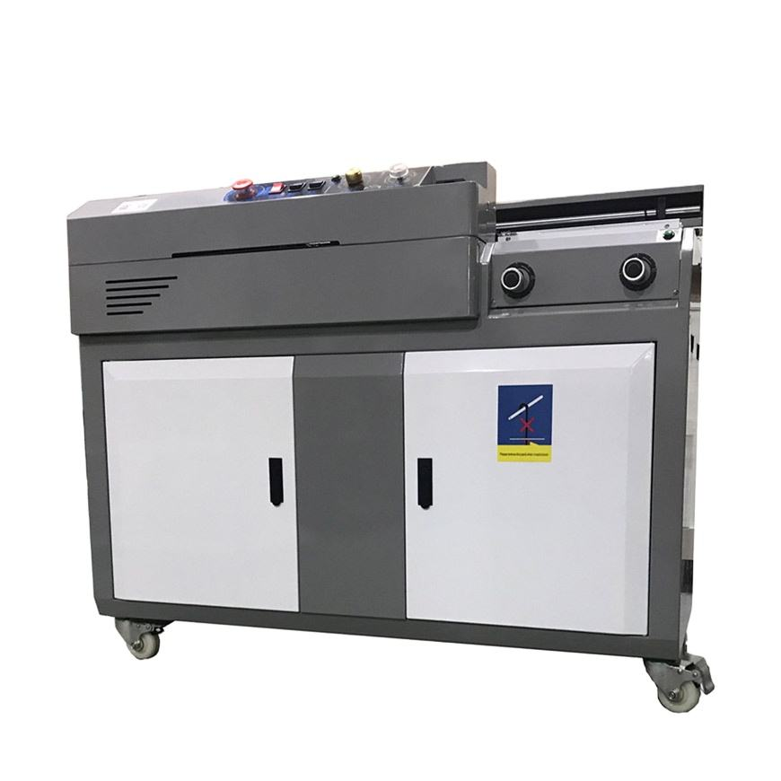 DB-55Abook binding machine automatic A4 size Post-Press+Equipment booklet binding glue binding