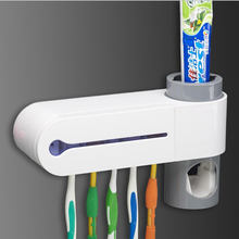 Electric sterilized toothbrush wall mount ultraviolet toothbrush disinfector Tooth Brush Household uv sterilizer box holder
