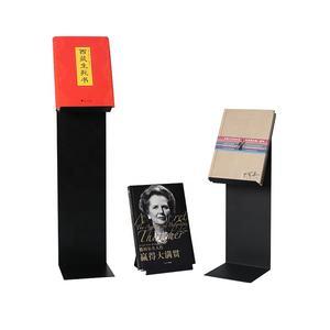 الراحة متجر التجزئة مكتبة الأثاث مسحوق معدن مطلي كتاب حامل