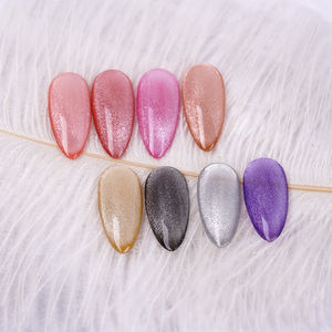 Free sample RS Nail silver galaxy 5D cat eye gel OEM ODM service private label kg order in bulk from Chinese gel polish factory