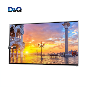 Hot sale 50 inch UHD flat screen android television 4k smart led tv