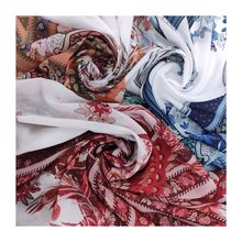 Hot sale  printed polyester chiffon fabric recycled digital fabric printing machine polyester chiffon fabric