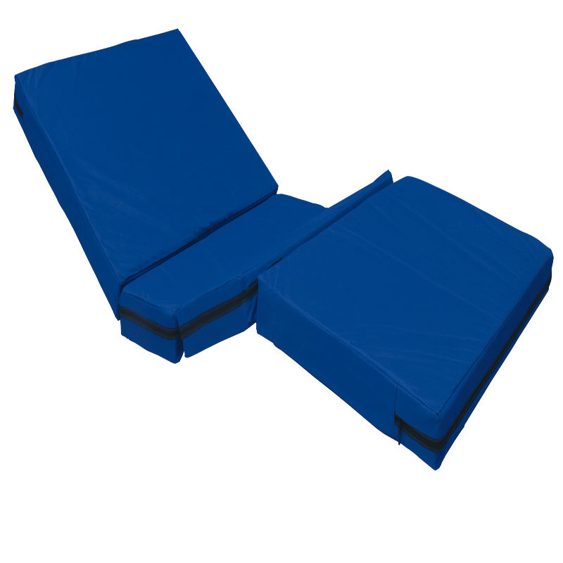 Flippable [ Mattress ] Half Brown And Half Cotton Foldable Medical Mattress Commonly Used In Family And Hospital