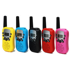 Handheld Anak-anak Walkie Talkie Teleskop Set untuk Anak 22 Channel 2 Way Radio Mainan Talkie Walkie Portable Interfon Walkie Talkie