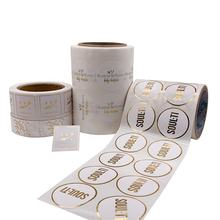 Customized Self-Adhesive Waterproof Stickers Name Printing Roll Printing Labels Labels