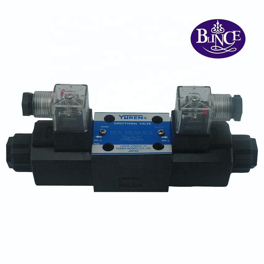 wholesale International Standard Best price Yuken DSG-01-3C60-D12-7090 hydraulic solenoid valve
