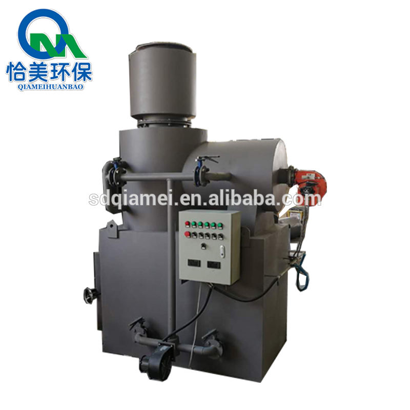 Medical waste incineration / smokeless small medical waste incinerator