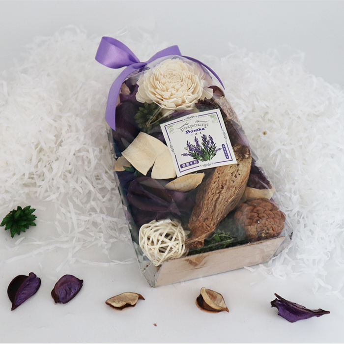 Wholesale air freshener potpourri dry flower lavender dried flower bag
