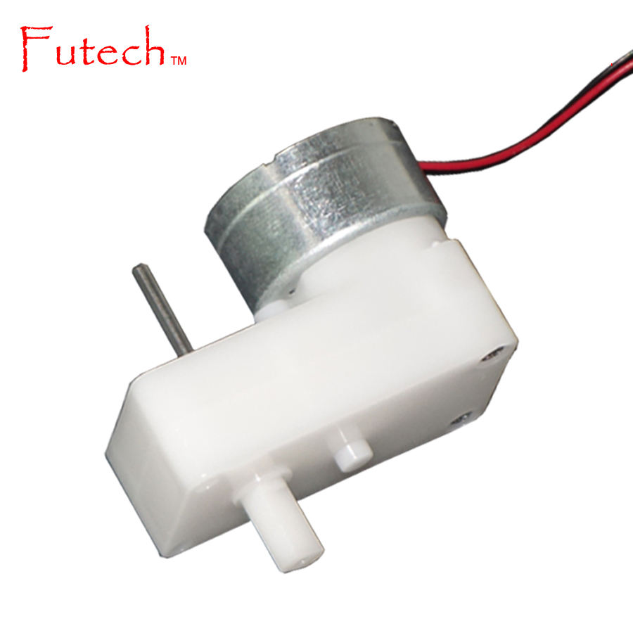 Small DC Plastic Gear motor for Robot Wheel