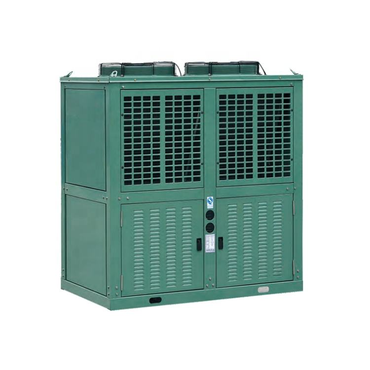 Brand Compressor Condensing Unit with Heat Recovery / 100 kw cooling chiller water machine