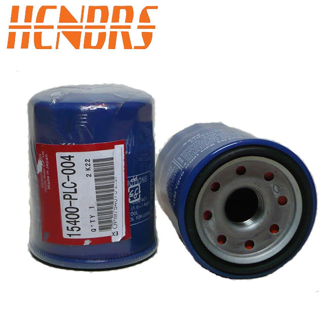 Japanese 15400-PLC-004 Oil Filter for Honda Hyundai Mitsubishi