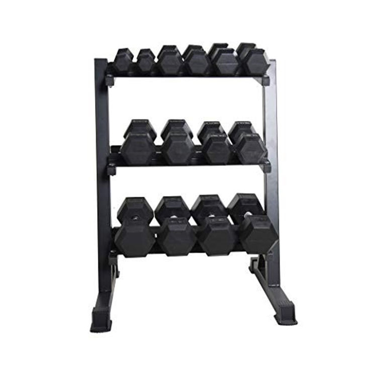 Weights Hex Dumbbell Dumbbells Set Iron Hex Rubber Dumbbells