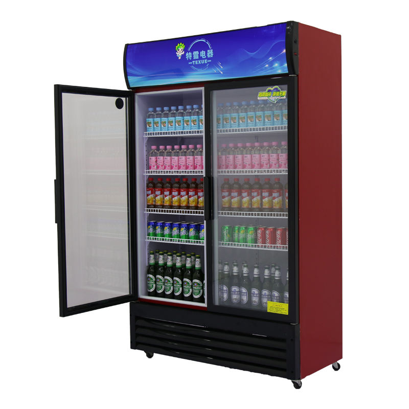 upright supermarket refrigerators size commercial beer cooler 2 glass door freezer price