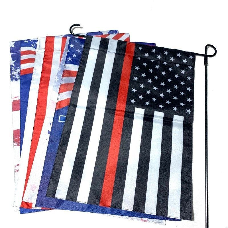 Hot sale garden yard house home decoration USA US America garden country flag set