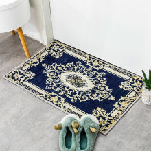 Household home thickened kitchen bathroom toilet anti-skid water-absorbing non-slip foot mat door mat carpet