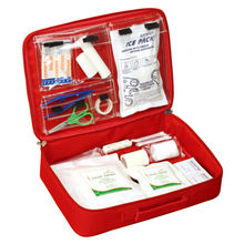 China supplies medical mini home portable emergency medical first aid kit bag