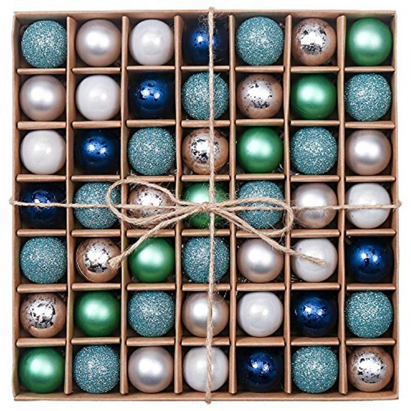 EAGLEGIFTS Assorted Christmas Ornaments Personalised Baubles Luxury Ball Family