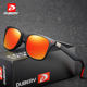 DUBERY Brand 2019 Wholesale Cheap Vintage Sunglasses Polarized Men's Sun Glasses For Men Square Shades Driving Black Oculos Male