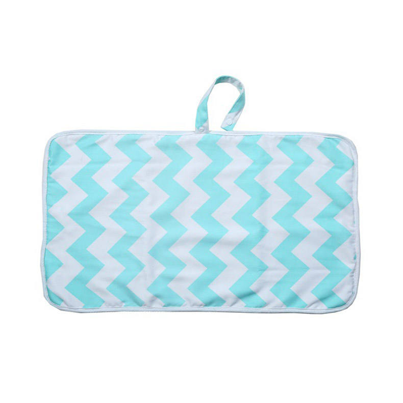 Portable Changing Pad Stylish Mat Foam Padding Foldable Design Soft Wipeable Baby Bag Diaper Backpack