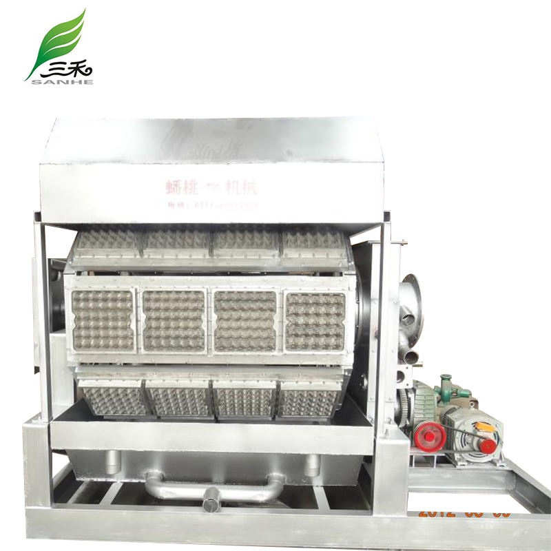 New business machine paper egg trays making machine price/egg crates making machine