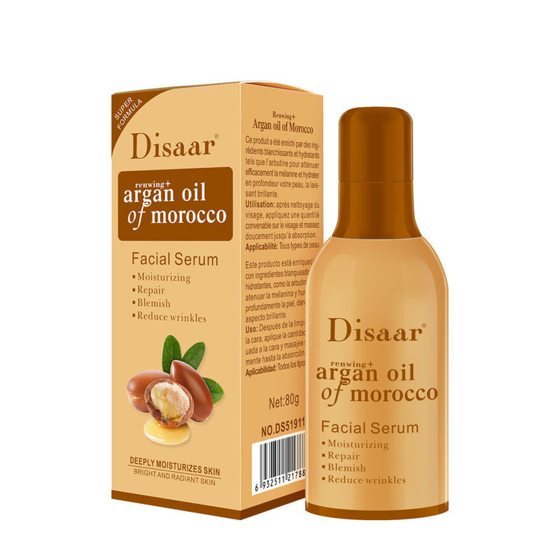 Disaar 80g argan oil of morocco facial serum moisturizing repair facial essential oil anti-wrinkle nourishing argan oil serum