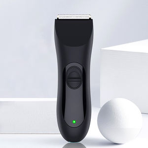 Skin safe waterproof electric manscaping men's body hair trimmer