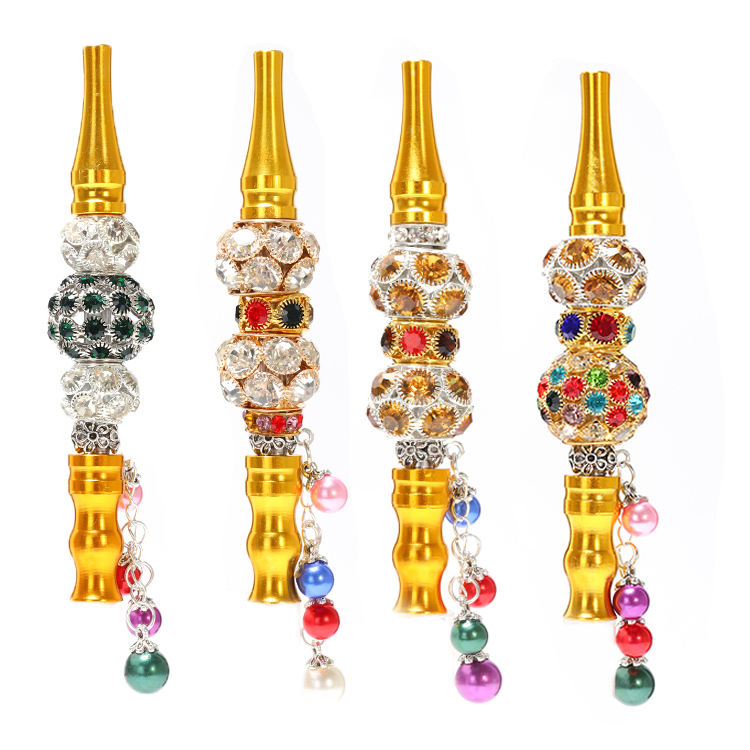 JL-941Jewelry hookah mouth tips shisha holder with decoration diamond crystal smoking accessories