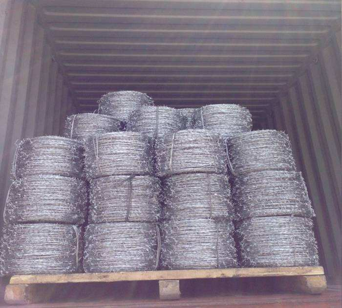 16.5ga. Barbed Wire export to Brazil Columbia Paraguay Bolivia Chile
