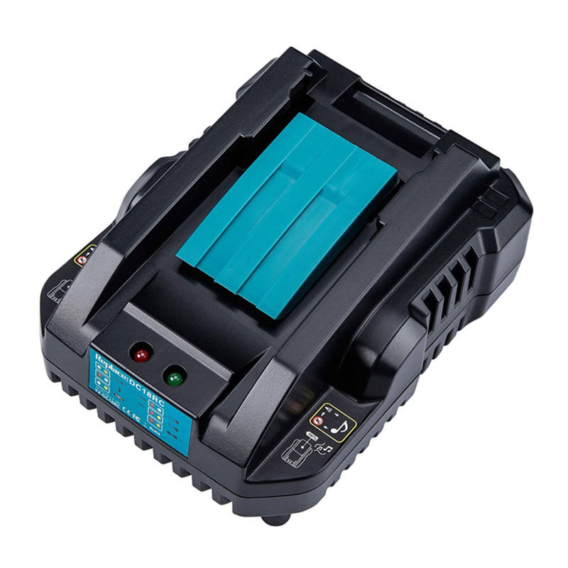 Mini 18v Lithium ion battery pack charger fit for Makita DC18RC T DC charger for LXT 18v 14.4v power tool battery