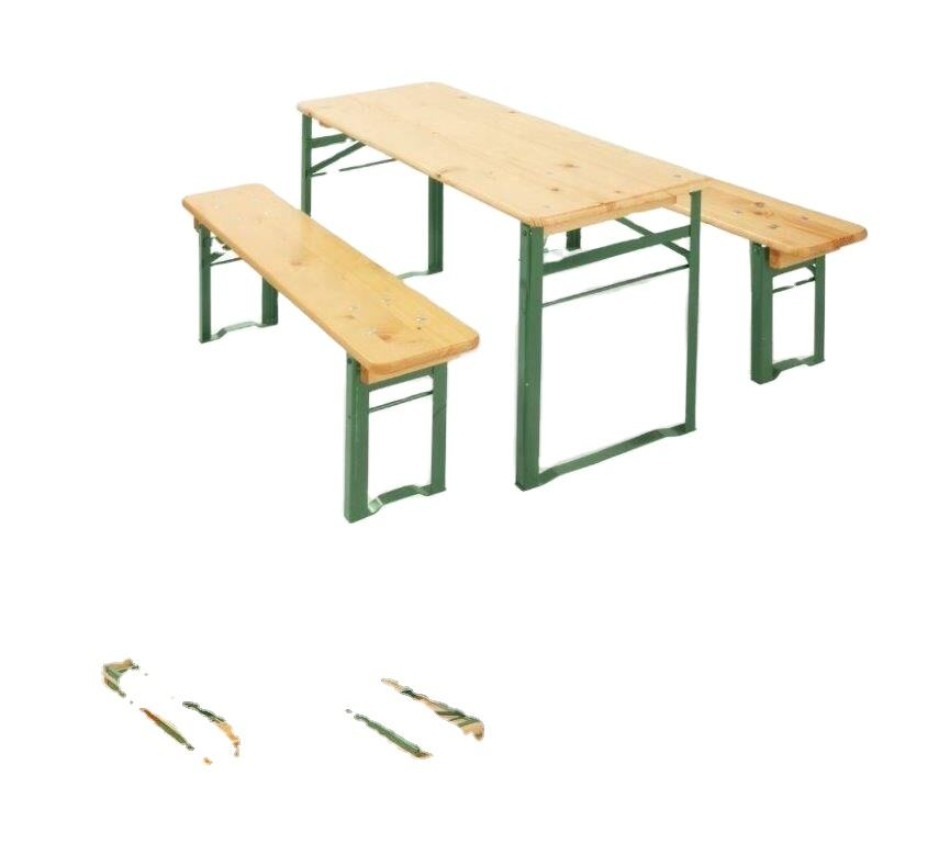 Beer Garden Table and Bench wooden beer table set