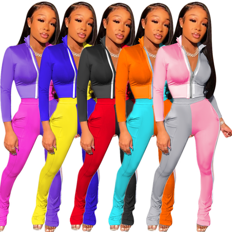 custom logo plus size tracksuit ladies tracksuit set two piece tracksuit women 2pcs set women