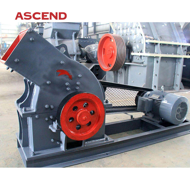 Hot sale concrete waste and glass sand powder making hammer crusher mill machine