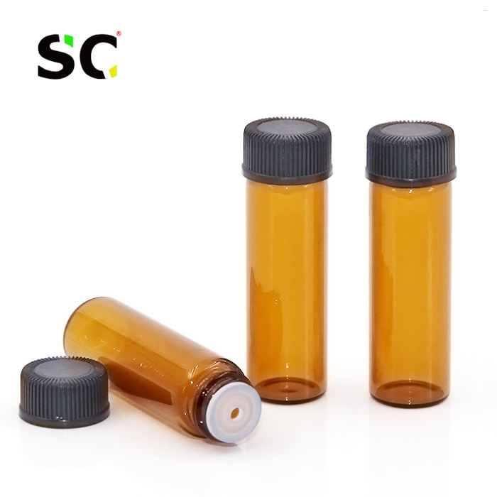 5ml 10ml Small Bottles Pharmaceutical Injection Dram Sample Amber Glass Vial