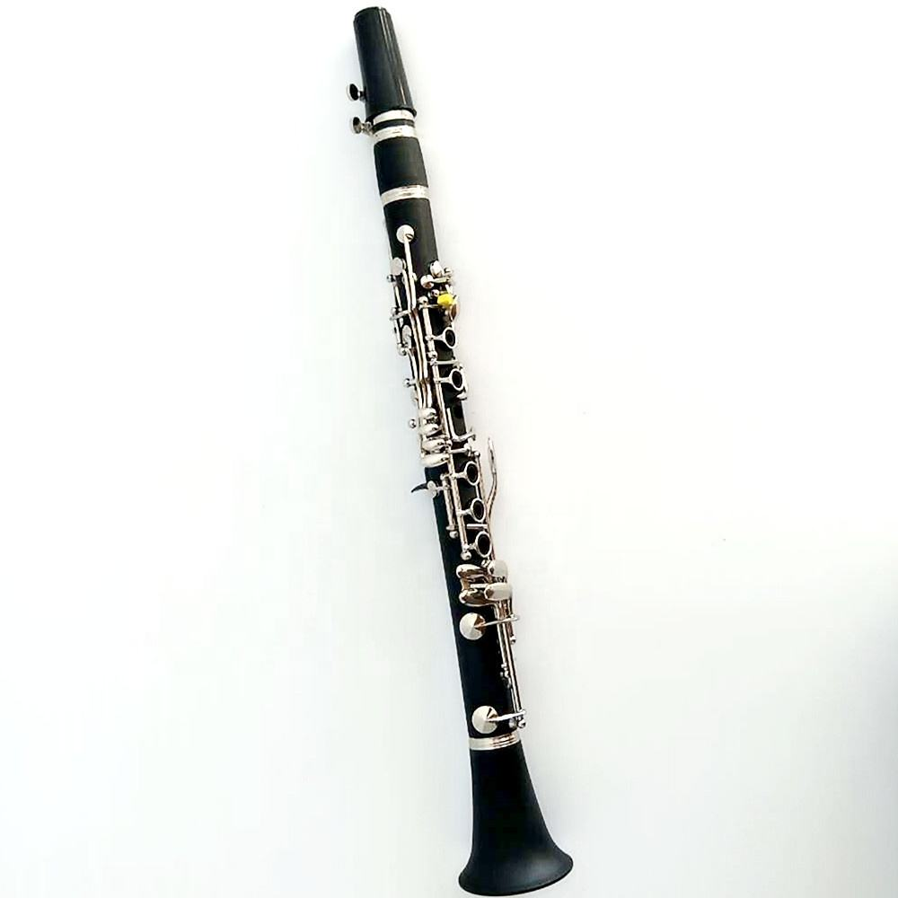 Manufacturer wholesale bakelite nickel plated Eb - tone clarinet