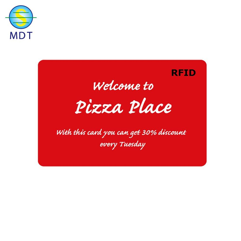 Hot Sale LF 125KHZ Credit Card Size Customized Printing Smart RFID Card For Access Control