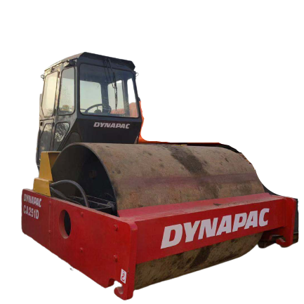 Road Roller 10 Ton Used Dynapac CA25D of Single Drum Dynapac CA251d Used Road Roller