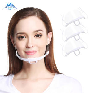 Transparent Sanitary Plastic Mouth Nose Shield Kitchen Hard Face Clear Food Mask