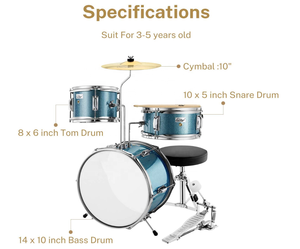 Acrylic Musical Instruments Price Children Digital Cymbals And Accessories Drum Set Microphone Professional