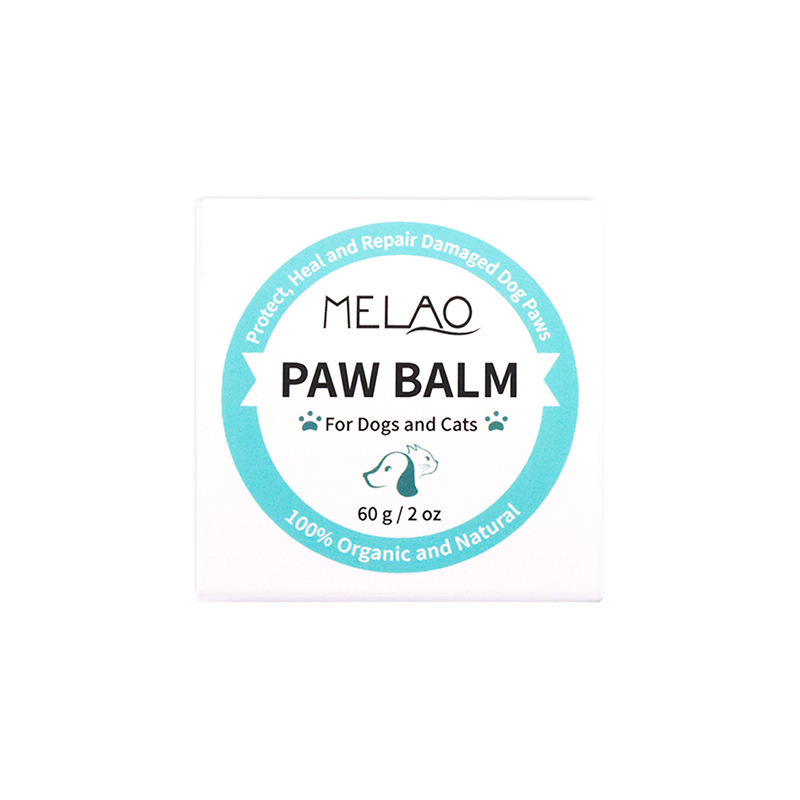 Private label organic Pet Natural Dog Paw Balm Protection Wax Relief for Raw Dry or Rough Paws
