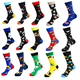 Wholesale Gift Box Socks Men Dress Custom Logo Socks 5 Pairs