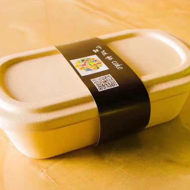 Chinese Factory Compostable Dishware Take Away Food Container Eco Friendly Disposable Food Packaging Box